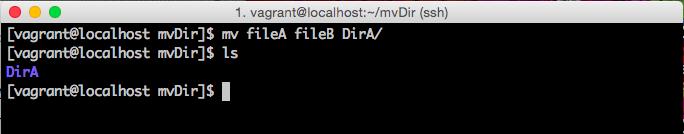 複数ファイルの移動