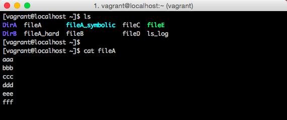 Linux操作画面
