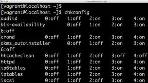 linux 自動起動スクリプト