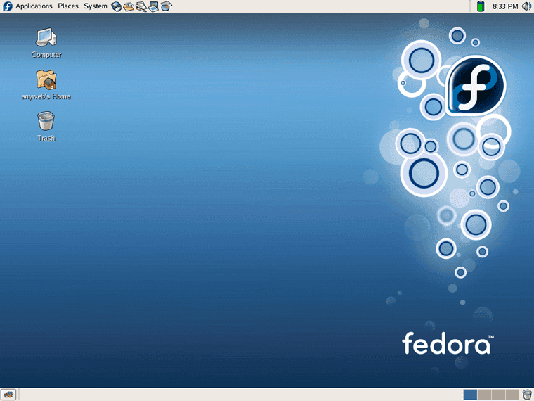 fedora display