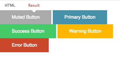 concisecss button