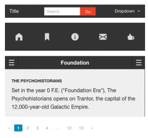Foundation UIコンポーネント