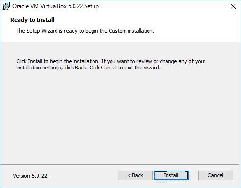 VirtualBox セットアップ5