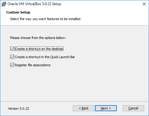 VirtualBox セットアップ3
