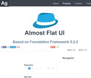 Almopst Flat UI