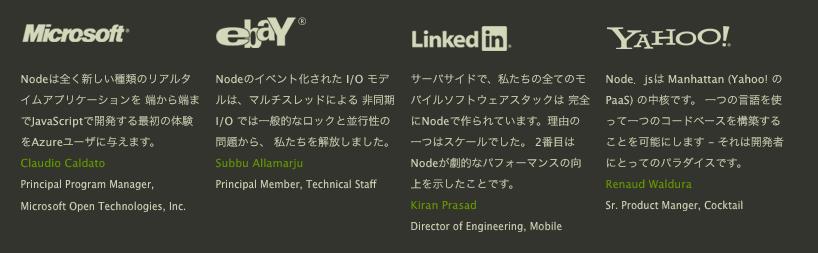 node.jsへの推薦