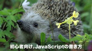 javascriptの書き方