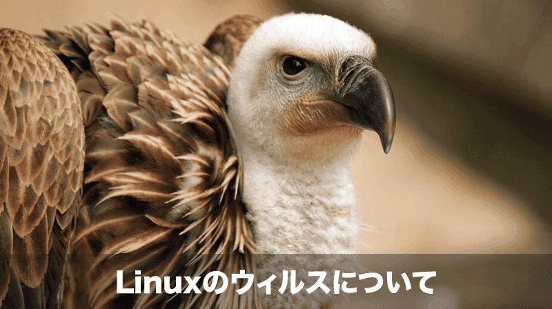 linuxのウィルス対策