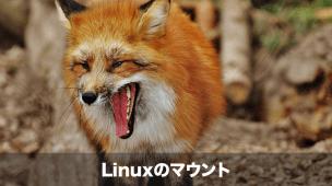 Linuxマウント