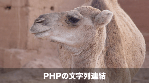 PHP文字列連結