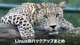 linuxのバックアップ