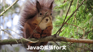 javaの拡張for