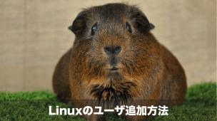 Linuxユーザの追加方法