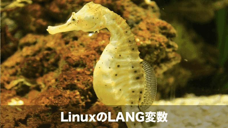 linux lang変数