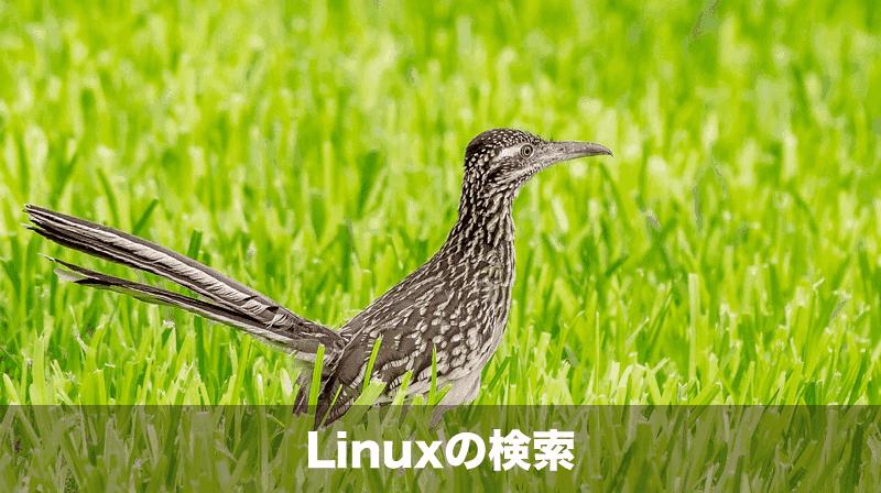 linuxの検索方法