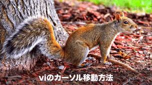 viのカーソル移動方法