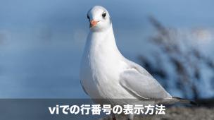 viでの行番号の表示方法