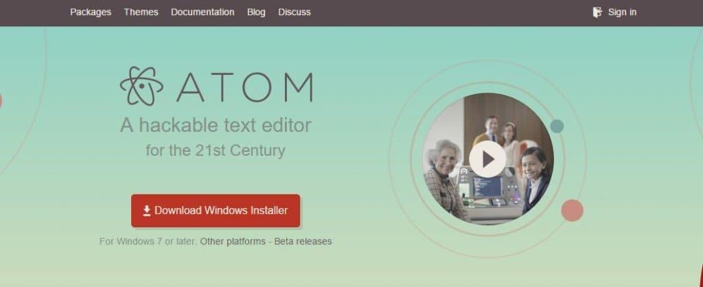 atom ホームページ