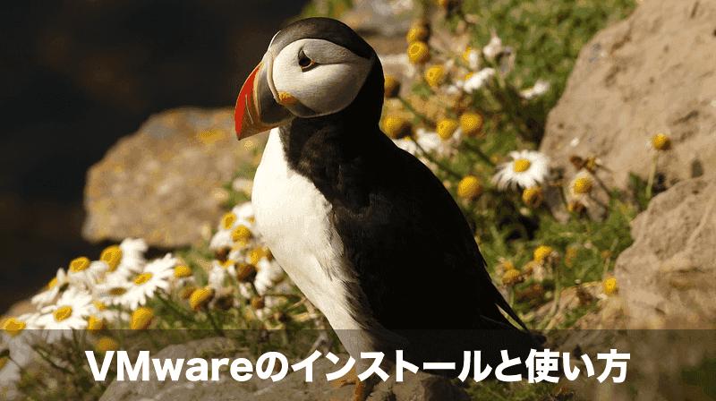 VMwareのインストール方法と使い方
